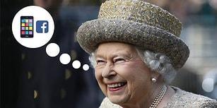 Sıkı Durun! 91 Yaşındaki Birleşik Krallık Kraliçesi 2. Elizabeth'in Gizli Facebook Hesabı Varmış!