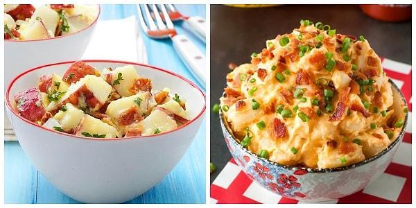 Klasik Patates Salatasından Sıkılanlara Birbirinden Leziz 12 Farklı Patates Salatası 32