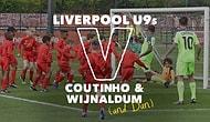 Liverpool'un Yıldızları Coutinho ve Wijnaldum, U9 Takımından 30 Futbolcuya Karşı