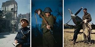 Korkunç Savaşın ''Renkli'' Yüzü! 2. Dünya Savaşı'na Ait İlk Defa Göreceğiniz 14 Yeni Fotoğraf!