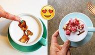 Kahveleriyle Yaratıcılığını Konuşturan Barista'dan 18 Sanatsal Fincan!
