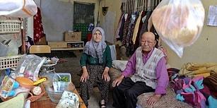 Evleri Yanınca Balkonda Yaşamaya Başlayan Yaşlı Çiftten Yardım Çığlığı