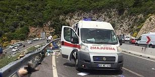 Marmaris'te Tur Otobüsü Devrildi: 24 Kişi Hayatını Kaybetti