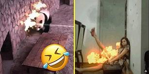 İnternetin Popi Olmuş Anlarını Efektlerle Bambaşka Boyutlara Taşıyan 21 Güldüren Görüntü