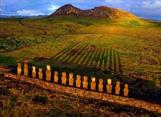 2. Easter Adası - Pasifik Okyanusu