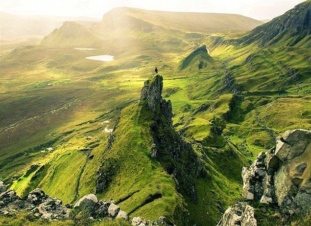 8. Skye Adası - İskoçya