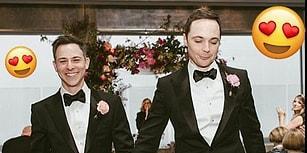 Gerçek Hayatta da Evlendi! 15 Yıllık Aşkına Nikahı Basan Sheldon'ımızın Kalp Eriten Düğünü