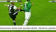 Quaresma Maça Damga Vurdu: 18 Yorum ile Bursaspor - Beşiktaş Maçının Sosyal Medya Özeti