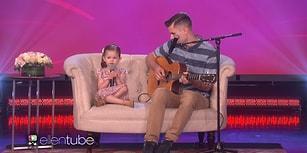 4 Yaşındaki Kız ve Babasından Muazzam 'You'll Be in My Heart' Performansı!