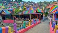 Birkaç Fırça Darbesi: Herkesin Yaşamak İçin Can Atacağı Dünyanın En Renkli Köyü!