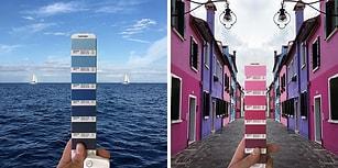 Dünyanın 7 Tonu! Renk Kartelalarını Hayatın İçinde Yakalayan Sanatçıdan 32 Fotoğraf