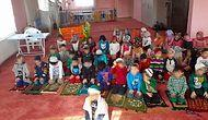 Bu Fotoğrafa Soruşturma: Kreşe Giden Çocuklara Takke, Sarık ve Gelinlik Giydirdiler