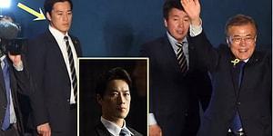 Güney Kore Cumhurbaşkanı'nın, Sosyal Medyada Akılları Çelen Çekici Koruması