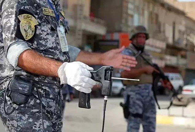 1. ADE 651 bomba dedektörü
