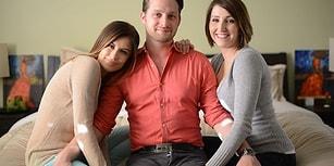İki Sevgilisiyle Aynı Evde Yaşayan 'Dünyanın En Mutlu Adamı'