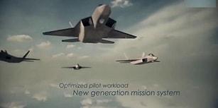 Türkiye'nin İlk Yerli Savaş Uçağı TAİ TF-X Milli Muharip Uçağının Tanıtım Videosu!