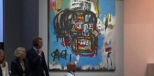 Sanatın Çılgın Çocuğu Michel Basquiat'ın 'İsimsiz' Eseri 110 Milyon Dolara Alıcı Buldu