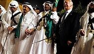 Trump, Suudi Arabistan Gezisinde Kılıç Dansı Yaptı