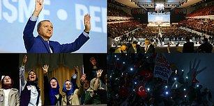 Erdoğan Yeniden Genel Başkan: Parti Tüzüğünde 11 Madde Değiştirildi, 'Rabia' Tüzüğe Girdi