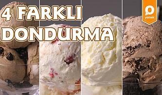 Yazın En Güzel Müjdesi 4 Farklı Dondurma Nasıl Yapılır?