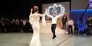 Efelerin Efesi Hakan Çalhanoğlu'ndan Düğününde Zeybek Şov