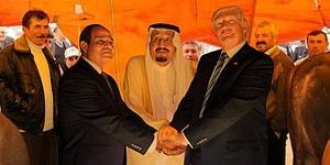 Trump'ın Suudi Arabistan Ziyaretinde Çekilen Fotoğrafı Şekilden Şekile Sokarak Güldürmüş 15 Kişi