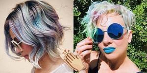 Unicorn Hastalarının Hayallerini Gerçeğe Dönüştüren Yeni Saç Boyama Tekniği