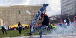 Brezilya Halkı Sokağa Çıktı, Başkan Askeri Göreve Çağırdı: Bir Haftadır Süren Protestolardan Çarpıcı 21 Kare