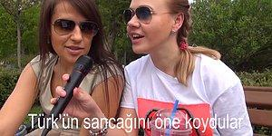Ruslar, İzmir Marşı'nı Söylerse!
