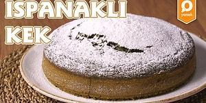 Baharın Rengini Keke Taşıdık! Ispanaklı Kek Nasıl Yapılır?