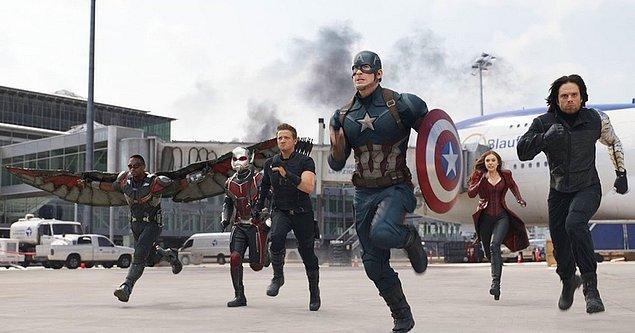 33. Captain America: Civil War / Kaptan Amerika: Kahramanların Savaşı | #23