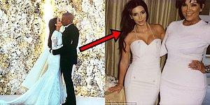 Kim Kardashian'ın Düğün Partisinden Paylaştığı, Daha Önce Kimselerin Görmediği Fotoğraflar