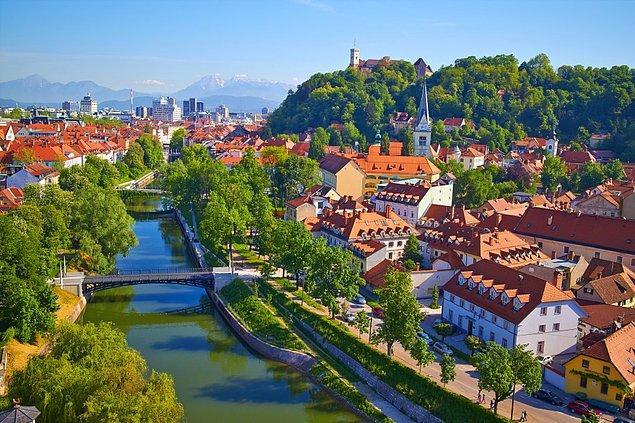 12. Ljubljana, Slovenya