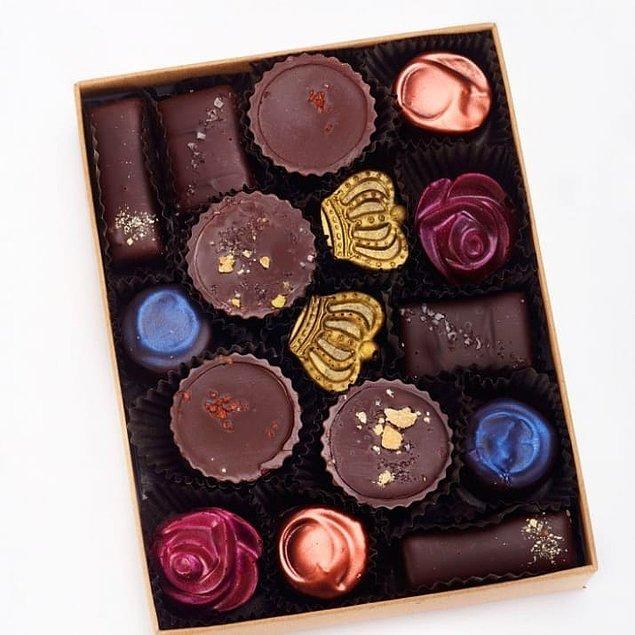 14. Aynı kutuda birbirinden farklı tatlar, biribirinden farklı tasarımlar!