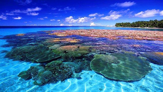 14. Marshall Adaları hangi okyanus üzerinde ola ki?