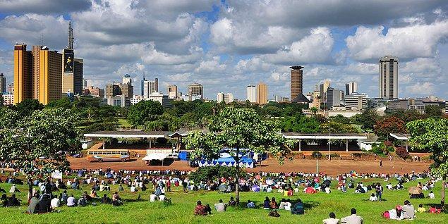 8. Nairobi nerenin başkentidir ya?