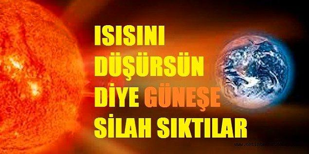 1. Adana'da bu yaz Güneş'e silah sıkılır.