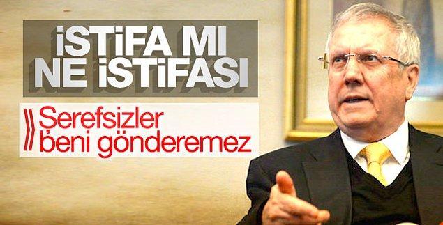 2. Aziz Yıldırım 2018'de tekrar Fenerbahçe başkanı seçilir.