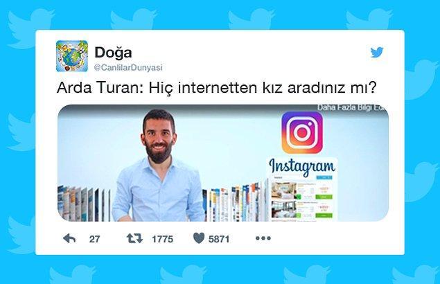 4. Arda Turan'ın Instagram'da yeni yürüme DM'leri ifşa olur.