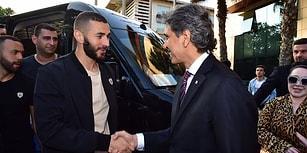 Real Madridli Golcü Benzema Fatih Belediyesinin Düzenlediği İftar Programına Katıldı