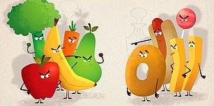 İşte O An Geldi! Sağlıklı ve Sağlıksız Yeme Alışkanlıkları Yarattığımız 15 İkilem Dolu An