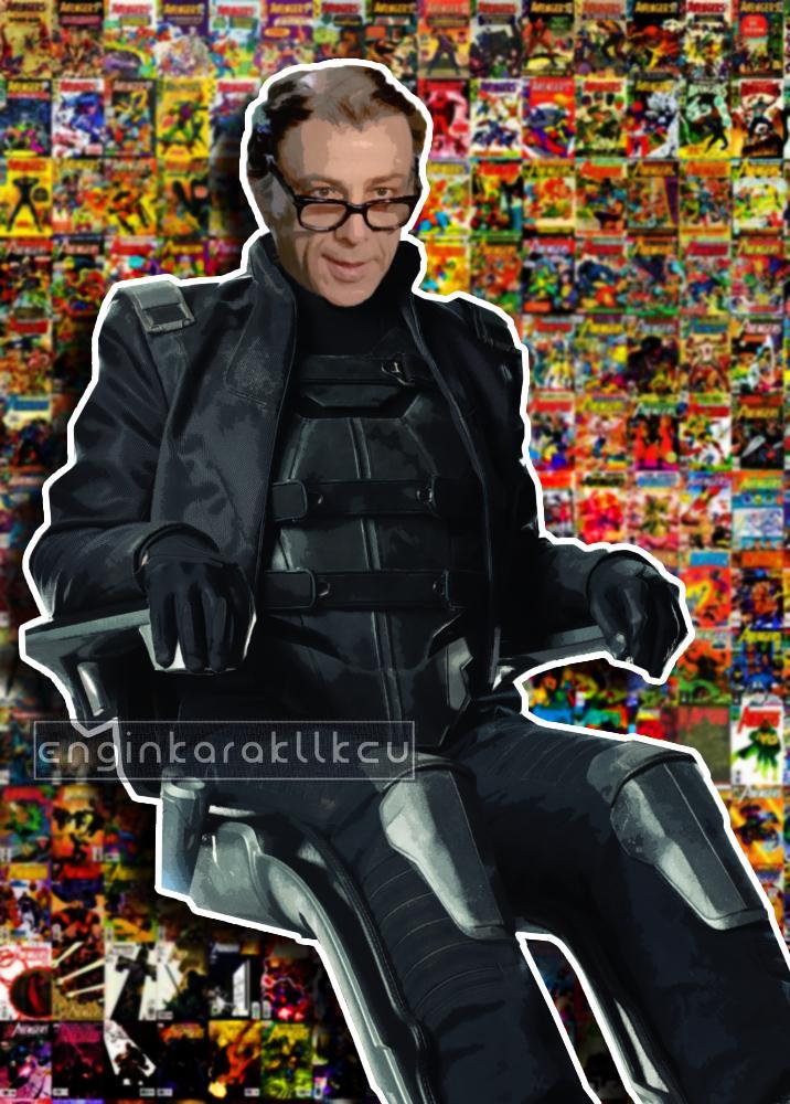 Yeşilçam Karakterlerinin Süper Kahramana Dönüştüğü 14 Photoshop Çalışması 14