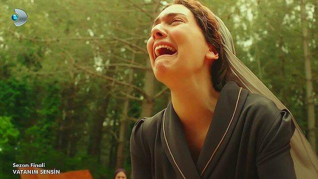 Bizi çok ağlattın ama seni çok sevdik Vatanım Sensin...