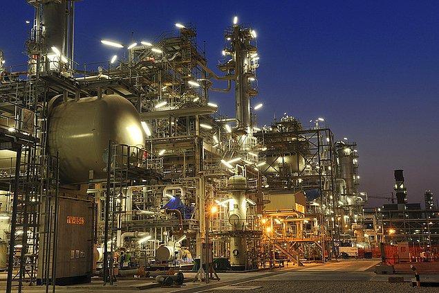 7. Bilinenin aksine ülkenin zenginlik kaynağı petrol değil, doğalgaz.