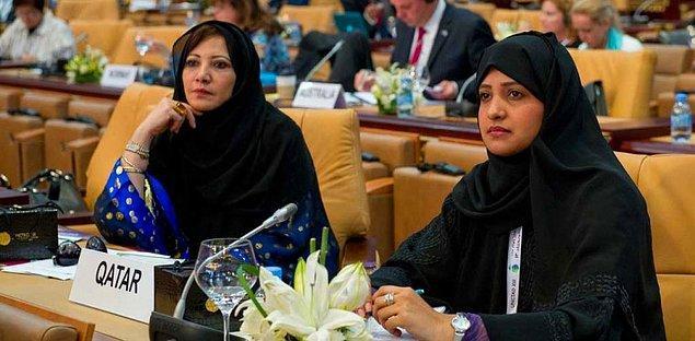 9. Katar'da kadın nüfusu çok düşük.