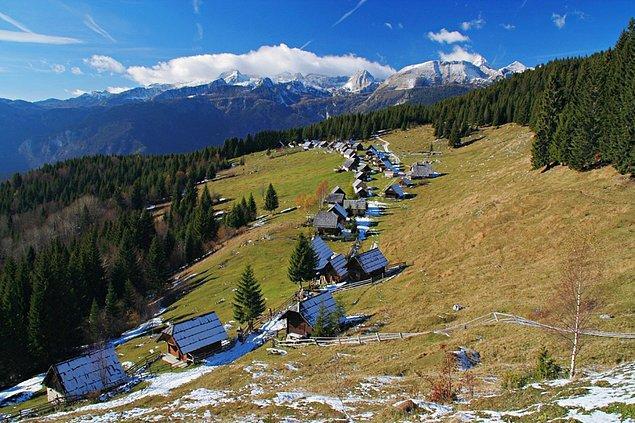 Tabii ki, Bled'in muhteşem platolarında doğa yürüyüşleri de yapabilirsiniz.