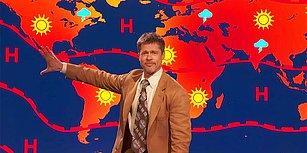 Brad Pitt Hava Durumu Sundu: 'Bizim İçin Bir Gelecek Yok!'