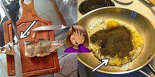 Mutfağa Giriş-Çıkışı Çoktan Yasaklanmış Olması Gereken Şaşkınlardan 23 İçler Acısı Kare