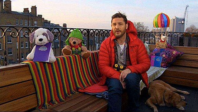 Bu yılın başlarında, çocuklar için hazırladığı uyku vakti videosunda da Woody'i görmüştük.