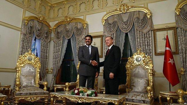 14. Türkiye - Katar ilişkileri de yükselişte.